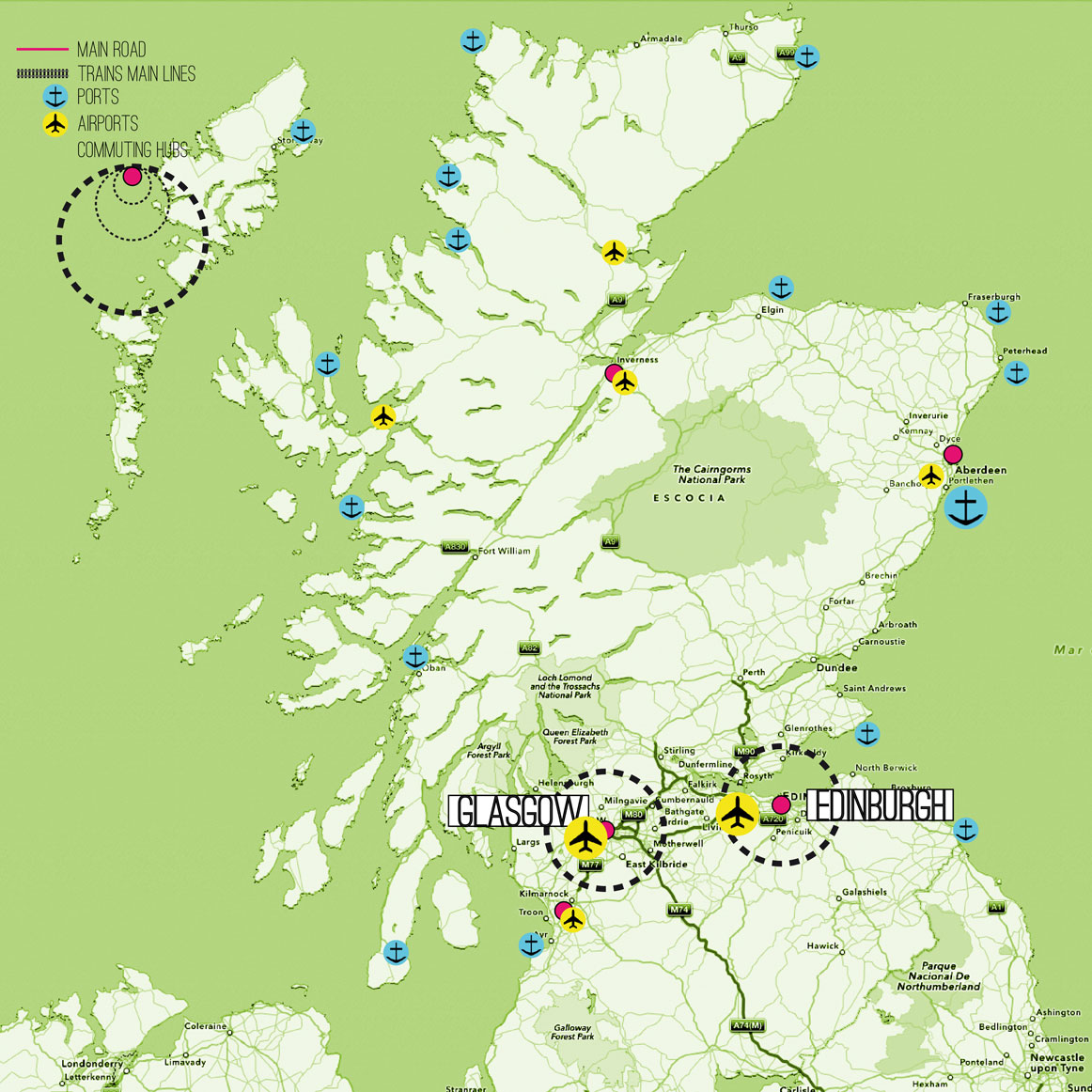 Scotland Case Study - Map
